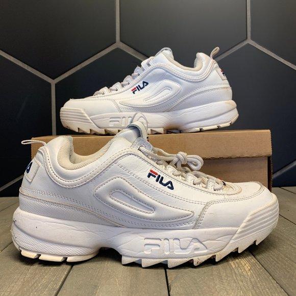 Used Fila Disruptor Ii Premium Sneakers